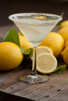 Iced Lemon Martini