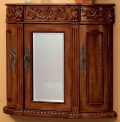 antique bathroom wall cabinet
