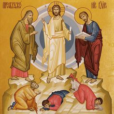 Transfiguration Pictures Of Jesus Christ, Life Of Christ, Byzantine Icons, Religious Icons, Orthodox Icons, Epiphany, Catholic, Faith, Sacred Art