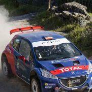 Carlos Sainz séclate en Peugeot 208 T16 au Portugal [video]