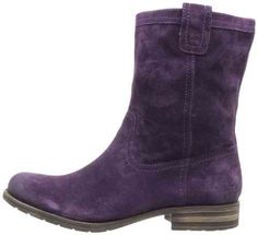 Naturalizer Women's Basha Slouch Boot in concord grape suede