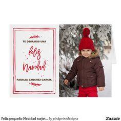 Feliz pequeño Navidad tarjeta de la Card