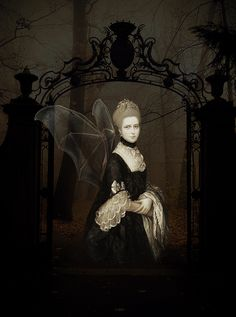 What Are The Best Places To Find Gothic Fashion Accessories? Dark Gothic Art, Decoupage, Mixed Media Artwork, Forest Fairy, Collage Artists, Pop Surrealism, Outsider Art, Altered Art, Altered Images