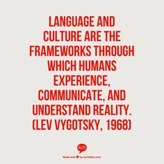 This is a quote about Social Constructivism, by Lev Vygotsky. I pinned it because I liked it. Development Quotes, Language Development, Child Development, Speech Language Pathology, Speech And Language, Second Language, Foreign Language, Social Constructivism, Cultural Competence