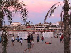 Beach volleyball in Javea