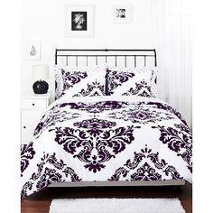 http://www.walmart.com/ip/Classic-Noir-Reversible-Comforter-Set/7958795