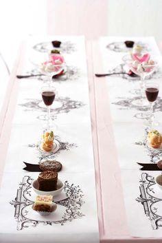Bridal shower chocolate tasting! Yum!