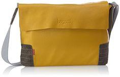 Bugatti Bags Race Messenger Bag, Querformat, medium, Unisex-Erwachsene Messengertaschen, Gelb (Gelb 26), 37x26x11 cm (B x H x T) - http://herrentaschenkaufen.de/bugatti-3/gelb-gelb-26-bugatti-bags-race-messenger-bag-cm-b-x-h