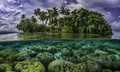 Rising Sea Levels Swallow 5 Pacific Islands, yes Republicans, there IS Global Warming !