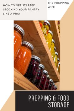 Prepping & Food Storage - The Prepping Wife Emergency Food Supply, Long Term Food Storage, Recipe Girl, Food Stamps, Hot Sauce Bottles, Street Food, A Food, Prepping, Dinner Recipes