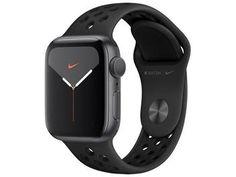 Apple Watch Nike Ex.: Series 5 40mm GPS - Wi-Fi Bluetooth Pulseira Esportiva 32GB - Magazine Lojamagalu1000