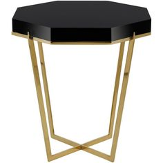 Danna Metal End Table design by Safavieh ($328) ❤ liked on Polyvore featuring home, furniture, tables, accent tables, end tables, black chairside table, safavieh end tables, black end tables, safavieh side table and black accent table