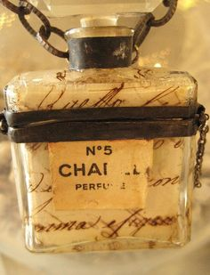 vintage chanel I remember many of these on my Aunt Peggy's bedroom table.