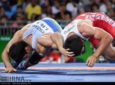 Rio 2016 – Wrestling – Freestyle 74kg – Hassan Aliazam Yazdanicharati (Hassan Yazdani Cherati) – Gold medal winner – Olympic Games in Rio de Janeiro, ... (1125×830)