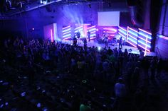 Tube Time! from Resurrection Life Church in Grandville, MI | Church Stage Design Ideas
