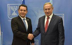 Guatemala apoya a Israel y EU, trasladará embajada a Jerusalén  #Guatemala #Jerusalén #JimmyMorales #Noticias #Mundo #Israel