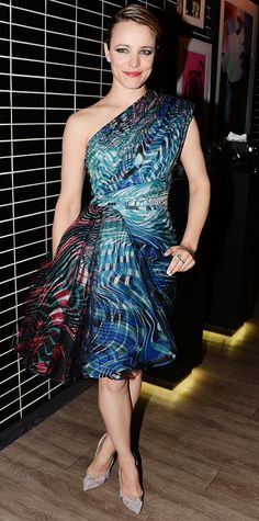 Look of the Day - July 23, 2014 - Rachel McAdams in Zuhair Murad Couture from #InStyle