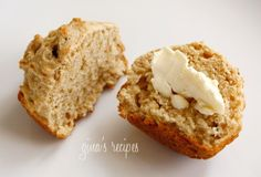 Whole wheat Irish soda bread muffins from Skinny Taste