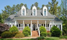 Home Design and Decor , Exterior Ranch Home Style : White Ranch ...