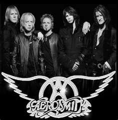 Aerosmith- my favorite band of All time. First Cd ever- 9 lives by Aerosmith - thx mich Muggs