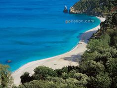 One of the beaches I miss most, close to my dads home town Volos. Beach of Ai Saranta, Pilio, Greece