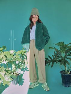 i love clothes Set Fashion, Fashion Images, Asian Fashion, Look Fashion, Winter Fashion, Girl Fashion, Vintage Fashion, Fashion Outfits, Womens Fashion