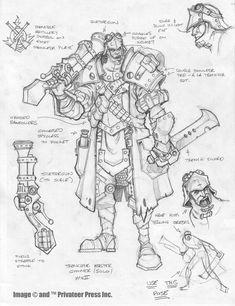 Trencher Master Gunner by ~cwalton73
