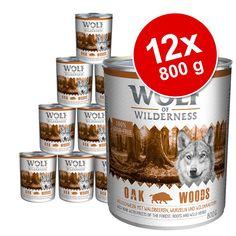 Animalerie  Lot Wolf of Wilderness 12 x 800 g pour chien  Arctic Spirit  renne