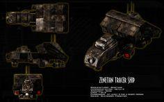 Zenetan Tracer ortho by unusualsuspex
