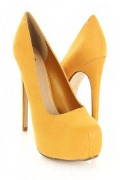 Mustard Faux Suede Closed Toe Platform Pump Heels @ Amiclubwear Heel Shoes online store sales:Stiletto Heel Shoes,High Heel Pumps,Womens High Heel Shoes,Prom Shoes,Summer Shoes,Spring Shoes,Spool Heel,Womens Dress Shoes,Prom Heels,Prom Pumps,High Heel San