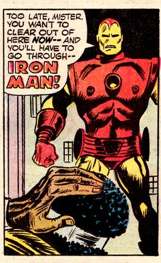 Power Man #17 (February 1973), art by George Tuska & Billy Graham, words by Len Wein