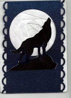 Moon wolf iris folding
