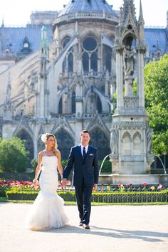 Truth be told, I've seen A LOT of weddings. But this Paris elopement pretty much takes the cake on romance. I'm talking vows in the Chapelle Expiatoire, photos by the Eiffel Tower, and glam-driven s. Paris Elopement, Elopement Dress, Wedding Photography Inspiration, Wedding Inspiration, Wedding Ideas, Elopement Announcement, Parisian Wedding, Greece Wedding, Paris Photography