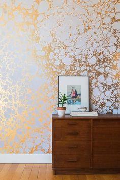 Le papier peint abstrait - Déco : les plus beaux papiers peints