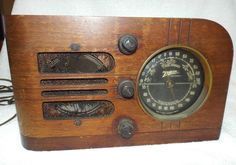 Working Vintage 1937 Zenith Tube Radio Model 6D219 Foreign Broadcast, U.S.A.