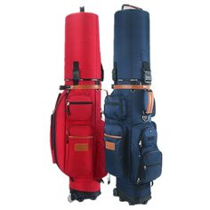 115.00$  Watch more here - http://ais60.worlditems.win/all/product.php?id=32721344460 - Brand Authentic Golf Pulley Bag Multi-purpose Tug Standard Bag Capacity Wheel Combination Golf Cart Caddy Club Viation Sport Bag