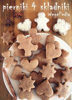 Zdrowe i pyszne jak Katarzynki wegańskie pierniki świąteczne słodzone tylko daktylami. Bez rozwałkowywania!