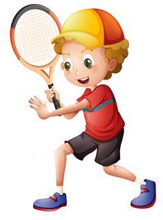 "Photo from album ""Теннис"" on Yandex. Cartoon Pics, Cartoon Clip, Cartoon Boy, Theme Sport, Sports Clips, What Is Digital, School Clipart, Cute Little Boys, Beaded Cross Stitch"