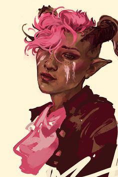 when all u accomplish in a day is a magical girl qunari (ノ°Д°)ノ ┻━┻