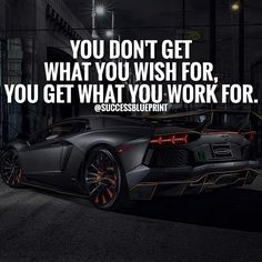 You have to put in work.  Plain and simple.