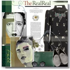 Fall Style With The RealReal: Contest Entry by prigaut on Polyvore featuring Chloé, Chanel, CÉLINE, BKE, Miu Miu, Stila and Dansk