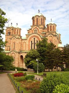 The church of Holy Apostle Mark - Beograd, Serbia