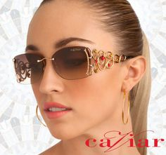 Elegant and luxurious handcrafted eyewear by Caviar