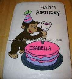 Image from http://media.coolest-parties.com/birthdaycakes/images/characters/curious-george/curious-george-cake-19.jpg.