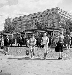 Lato w Warszawie 1956 rok