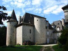 Château d'Entraygues, Auvergne, France