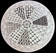 Mandala + #Zentangle = Zendala