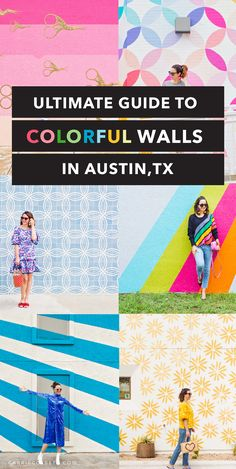 Austin Mural Guide : Your Guide to Austin's Most Colorful Walls - from the CarrieColbert.com team