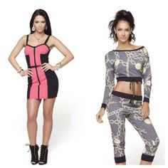 cute, sexy, and trendy women's clothing: urban fashion