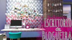 Blogger office Tips and decoration at Mony Sims via Sims 4 Updates